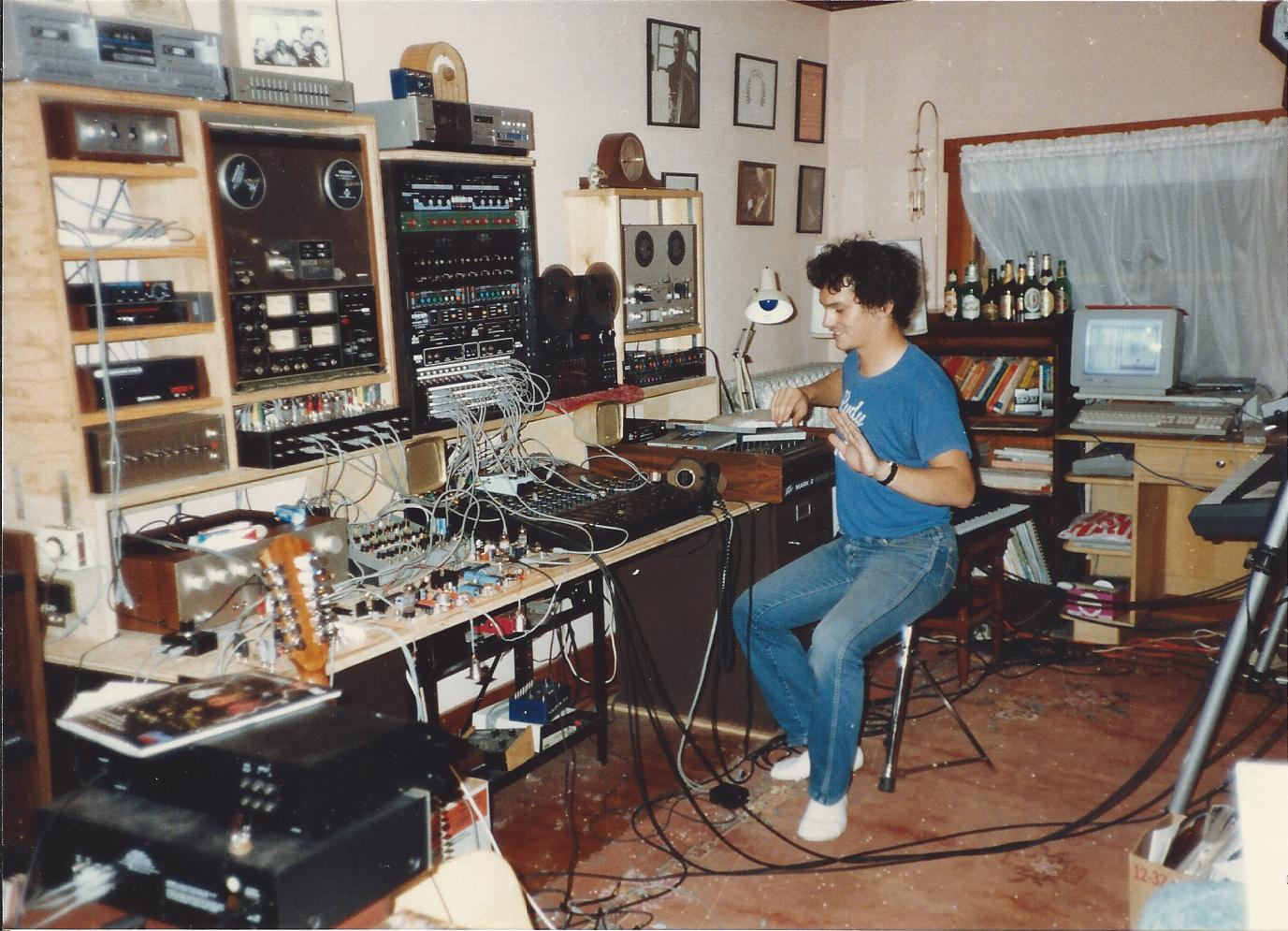 Image result for old home recording studio